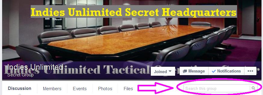 Indies_Unlimited secret headquarters