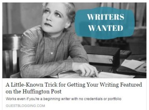 Little-Known Writers Trick