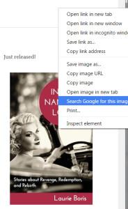 Google Chrome Image Search