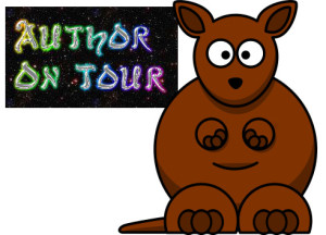 author kangaroo hopping on a blog tour