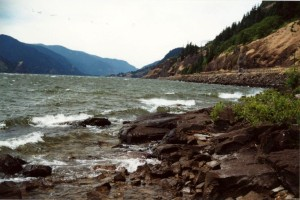 flash fiction writing prompt columbia river washington oregon 2001