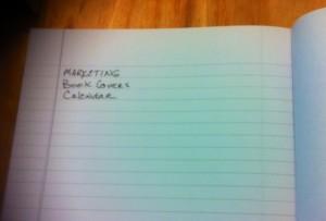writers notebook index