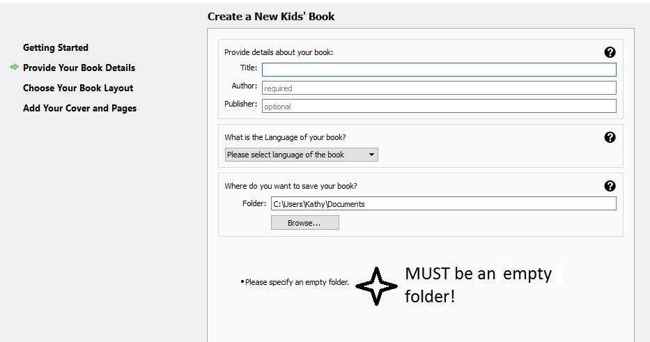 Kindle Kids' Book Creator book details