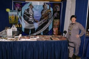 Comic Con Lexington K. Rowe Booth