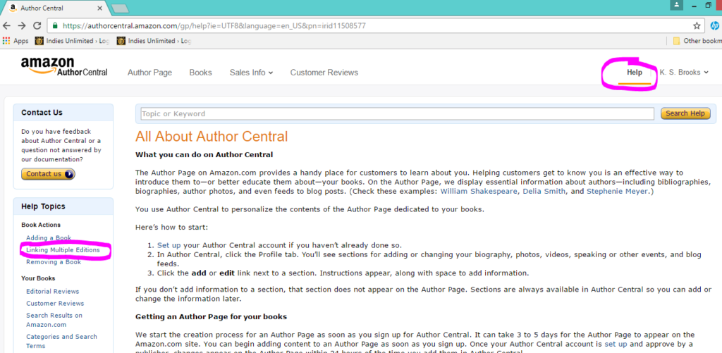 author-central-linking-a-book