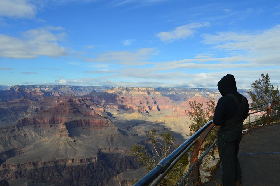 dark angel flash fiction writing prompt grand canyon 2017 copyright KSBrooks