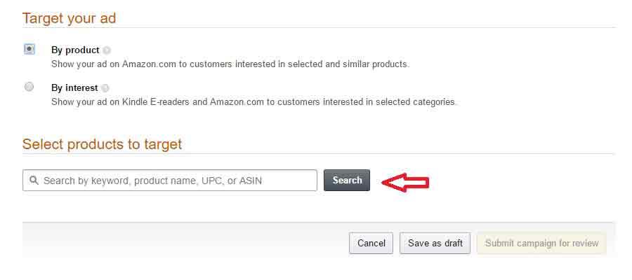 Amazon Marketing ads Product-set-up-2-target-pro