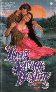 loves savage destiny by melissa bowersock book cover