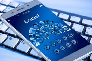 scheduling social media posts for authors mobile-phone-1917737_1280