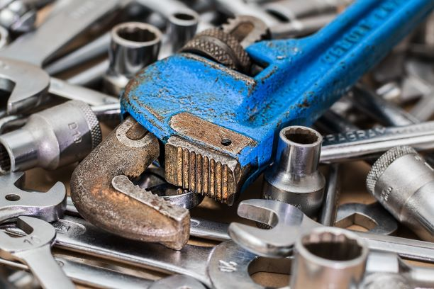 authors tools wrench